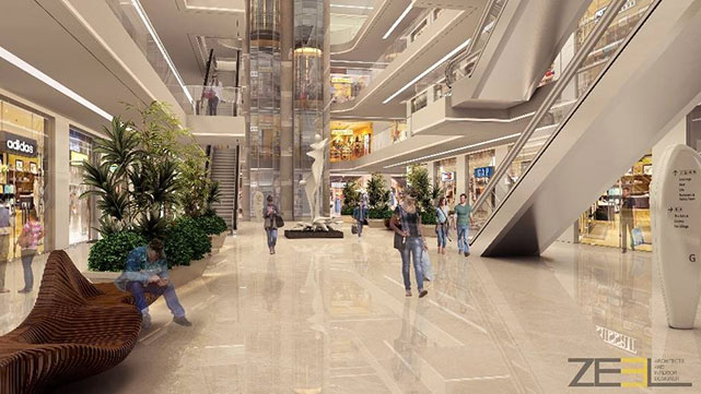 Interior of Mall at Nashik